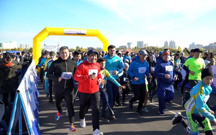Более 1500 жителей и гостей столицы приняли участие в благотворительном «Адал Жүрек»