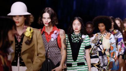 Показ коллекций  Louis Vuitton весна-лето 2020
