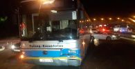 Автобус с пассажирами насмерть сбил пешехода