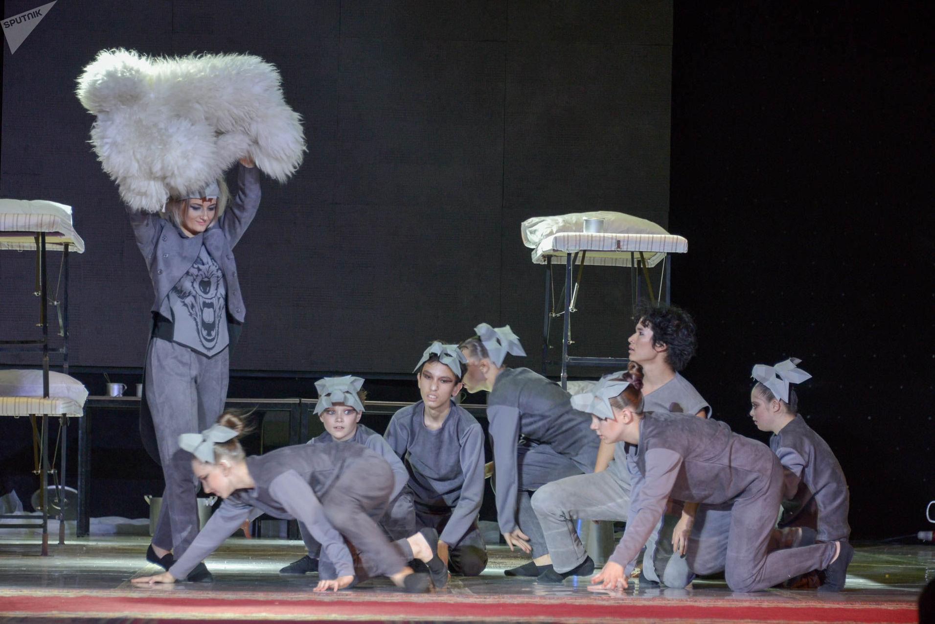 Театр особенных актеров в Петропавловске