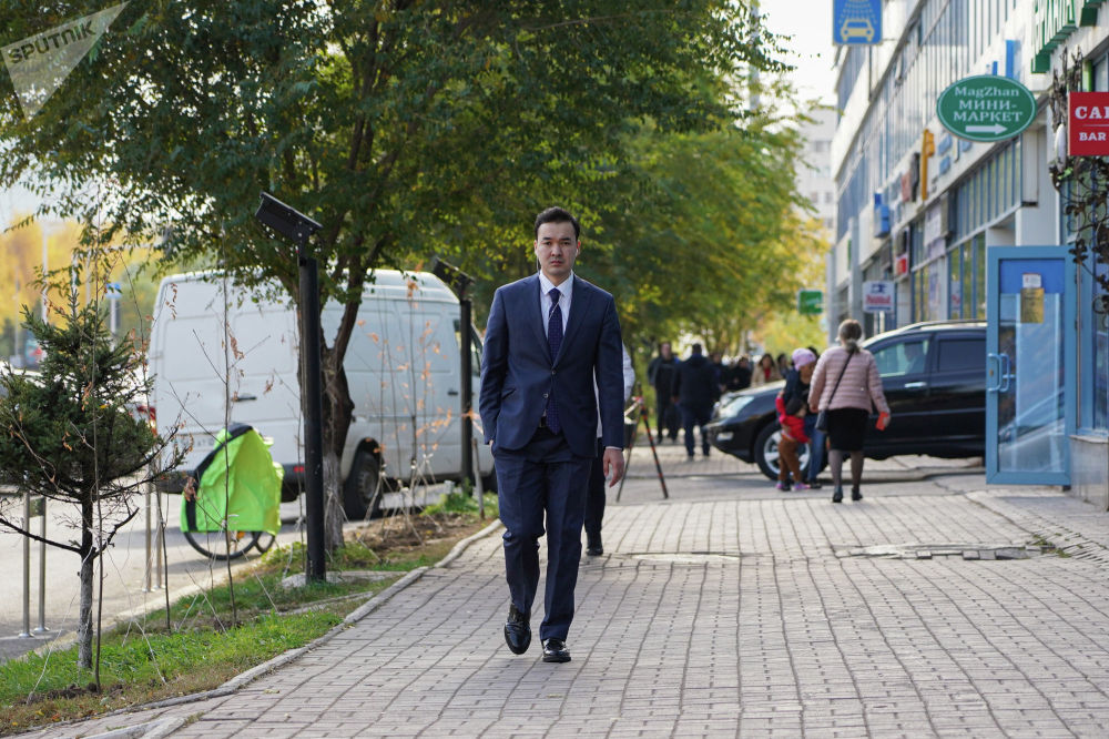 Молодые люди Казахстана