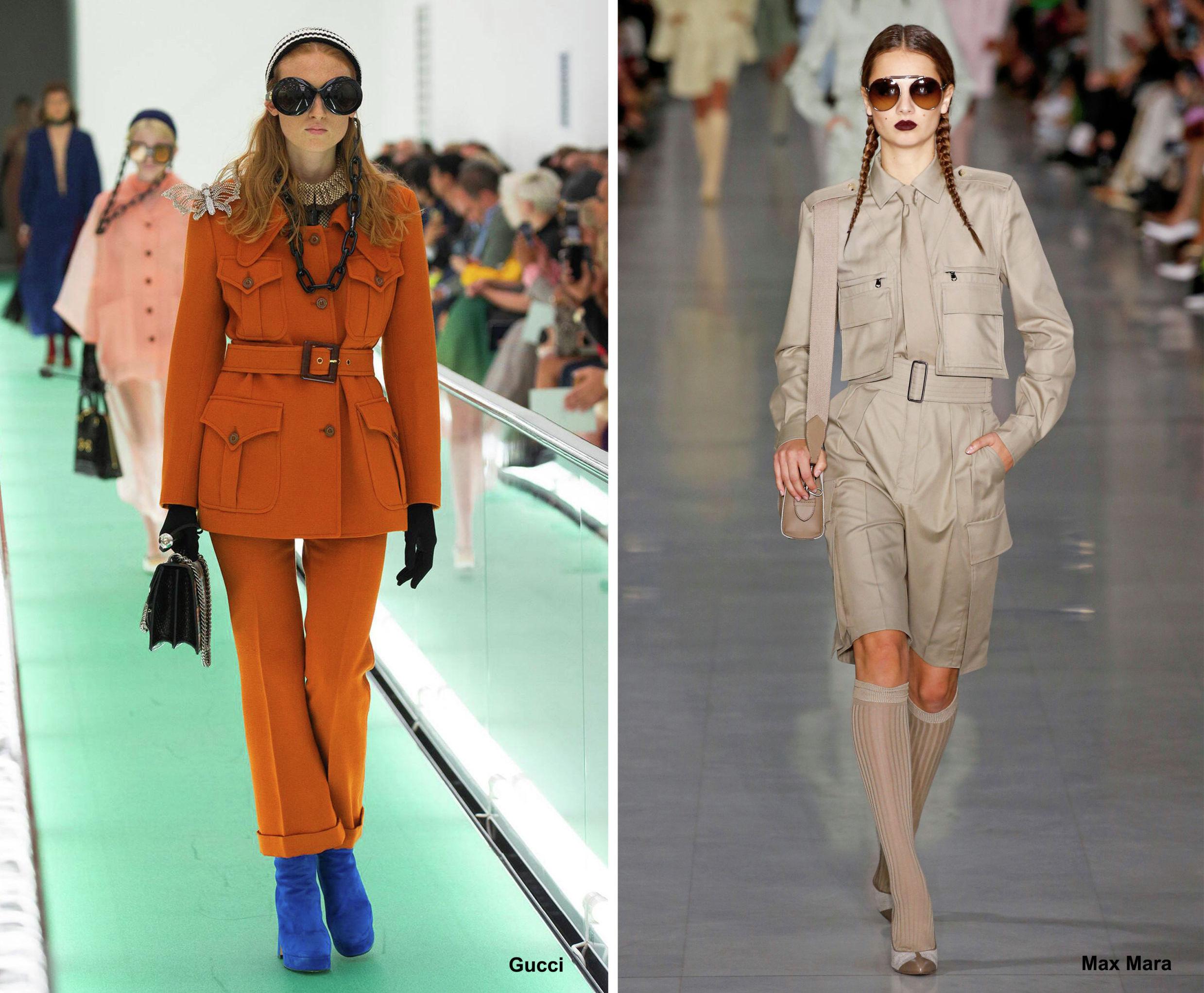 Куртки из коллекций Gucci и Max Mara весна-лето – 2020