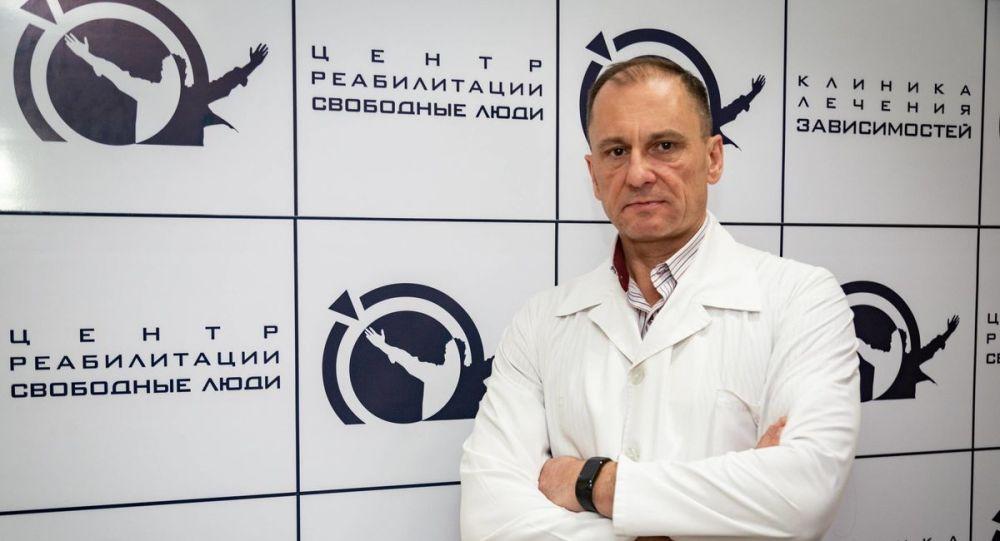 Психиатр-нарколог дәрігер Руслан Әлиев