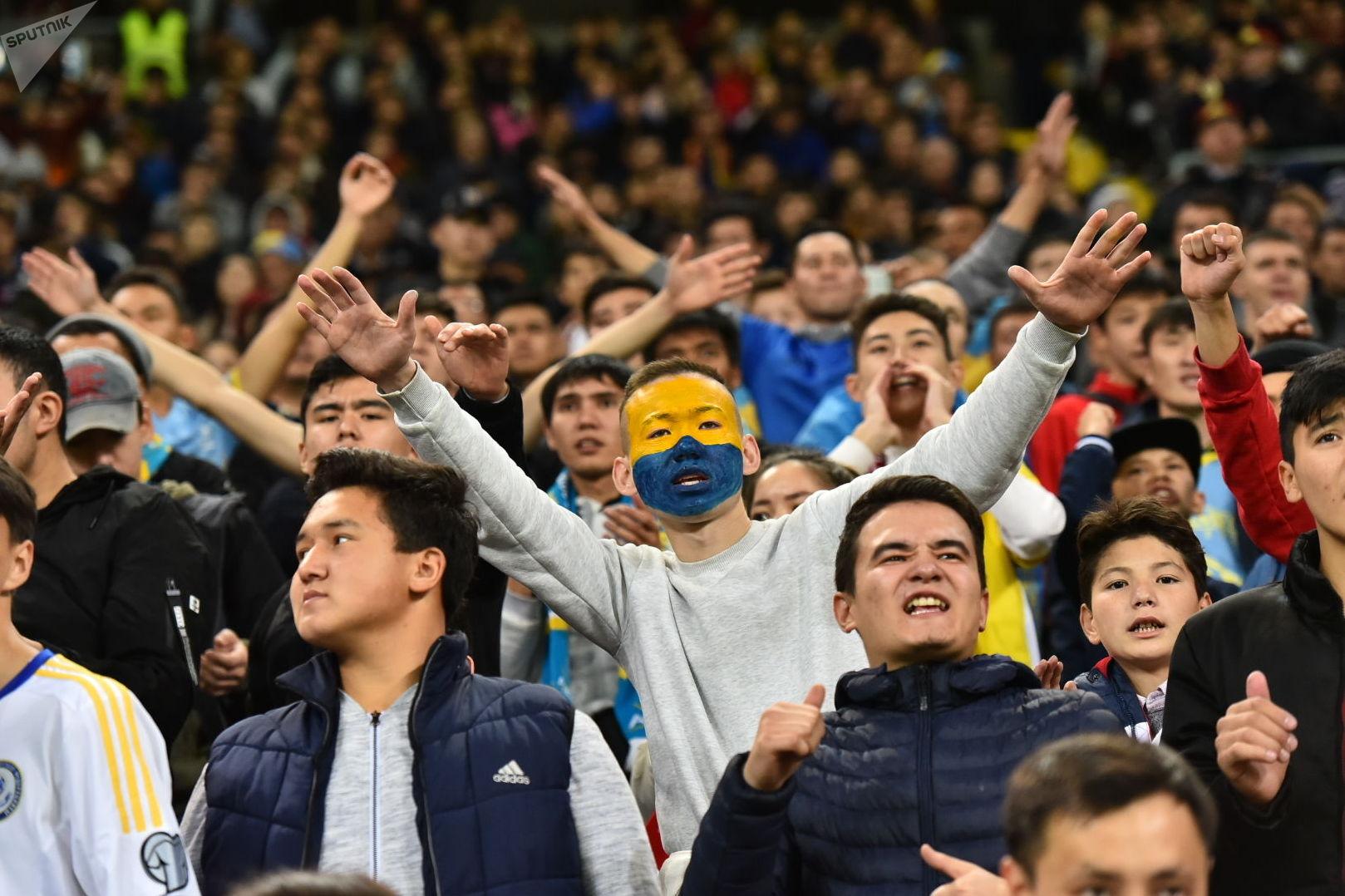 Матч Казахстан - Бельгия. 2 тайм