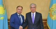 Президент Казахстана Касым-Жомарт Токаев и Ерлан Саиров