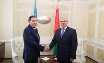 Аппараты советов безопасности Казахстана и Беларуси провели расширенные плановые консультации