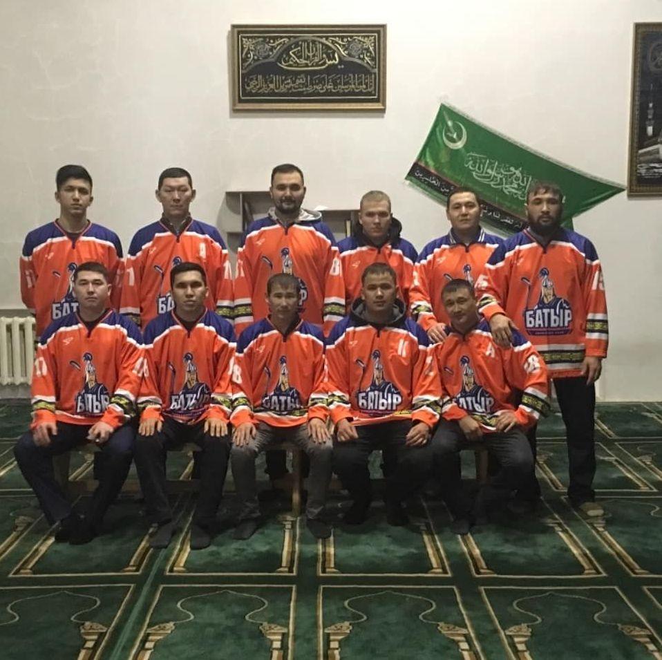 ХК Батыр в мечети