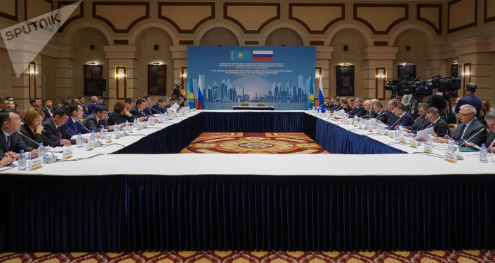 21-е заседание Межправкомиссии по сотрудничеству между Казахстаном и Россией
