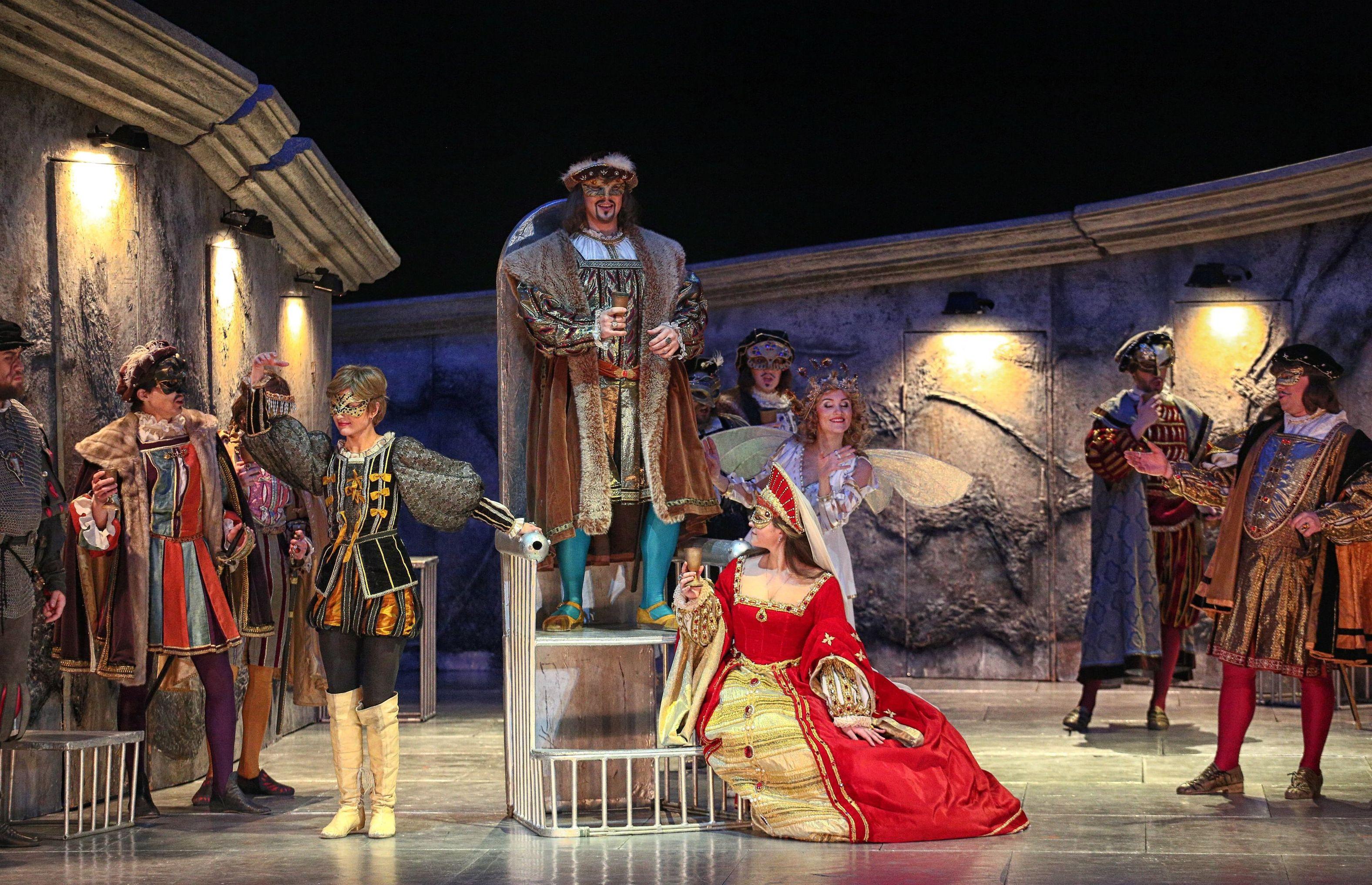 Гастроли театра Санктъ-Петербургъ Опера в Нур-Султане