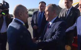 Визит Елбасы в Баку на заседание ССТГ
