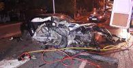 BMW спровоцировал массовую аварию