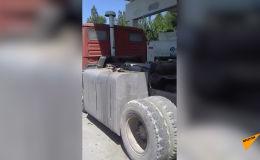 Вваренный дополнительный бак для бензина