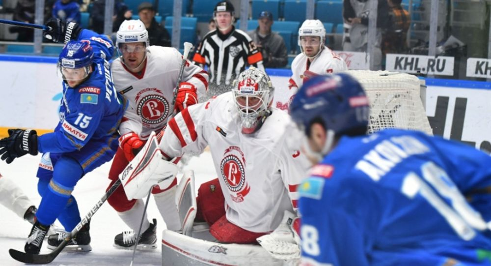 КХЛ 2019/2020: БАРЫС - ВИТЯЗЬ 20.10.2019