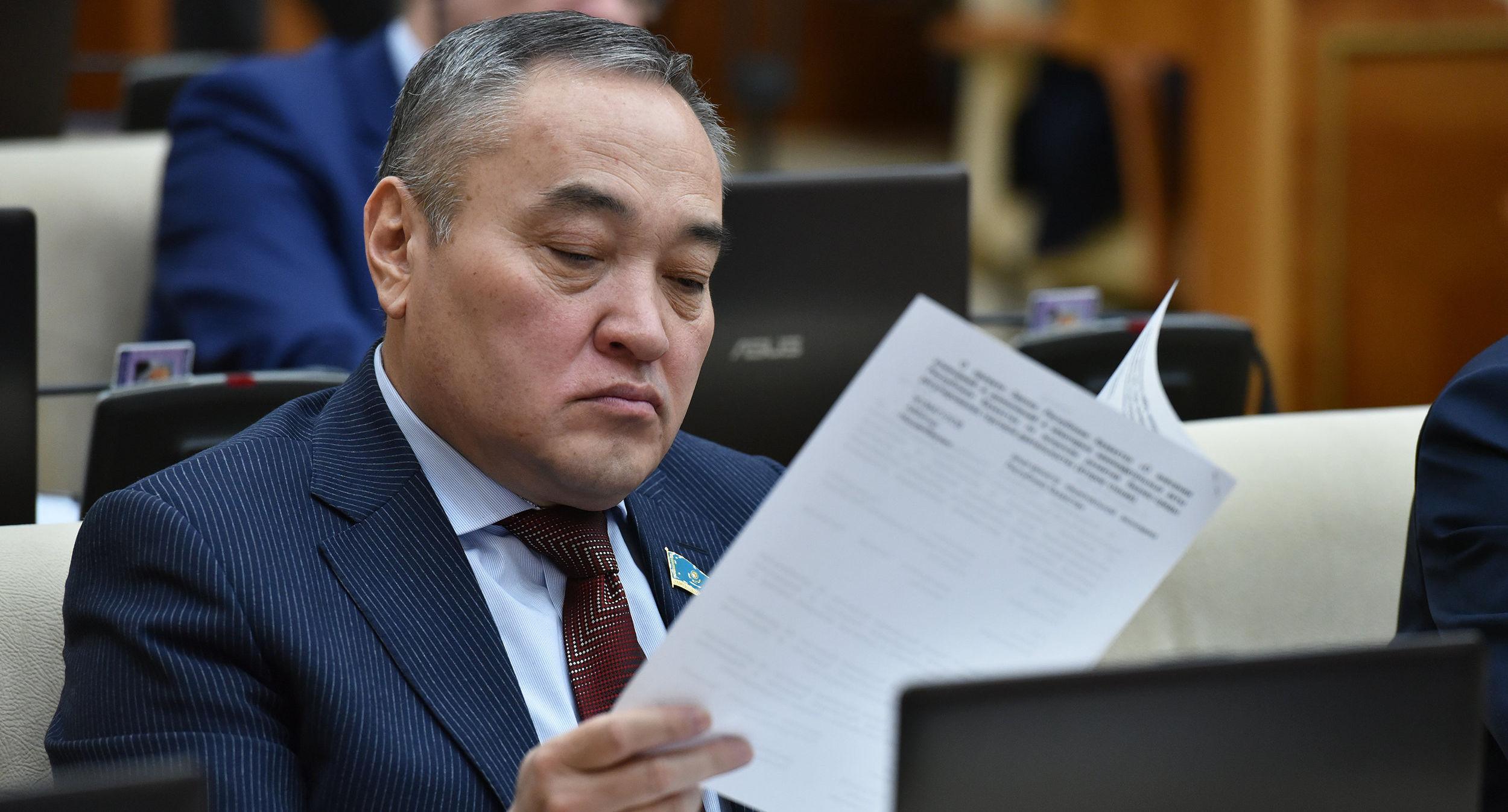 Депутат мажилиса Дархан Мынбай