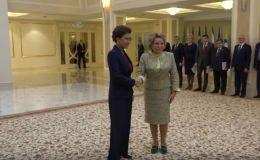 Дарига Назарбаев встретилась с Валентиной Матвиенко