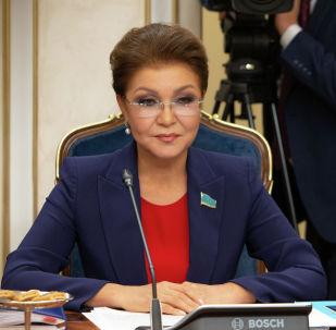 Спикер сената парламента Дарига Назарбаева