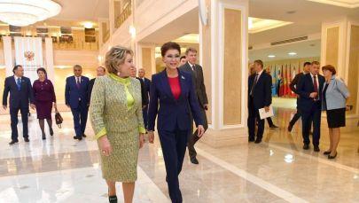 Дариға Назарбаева Валентина Матвиенкомен кездесті