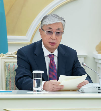 Мемлекет басшысы Қасым-Жомарт Тоқаев