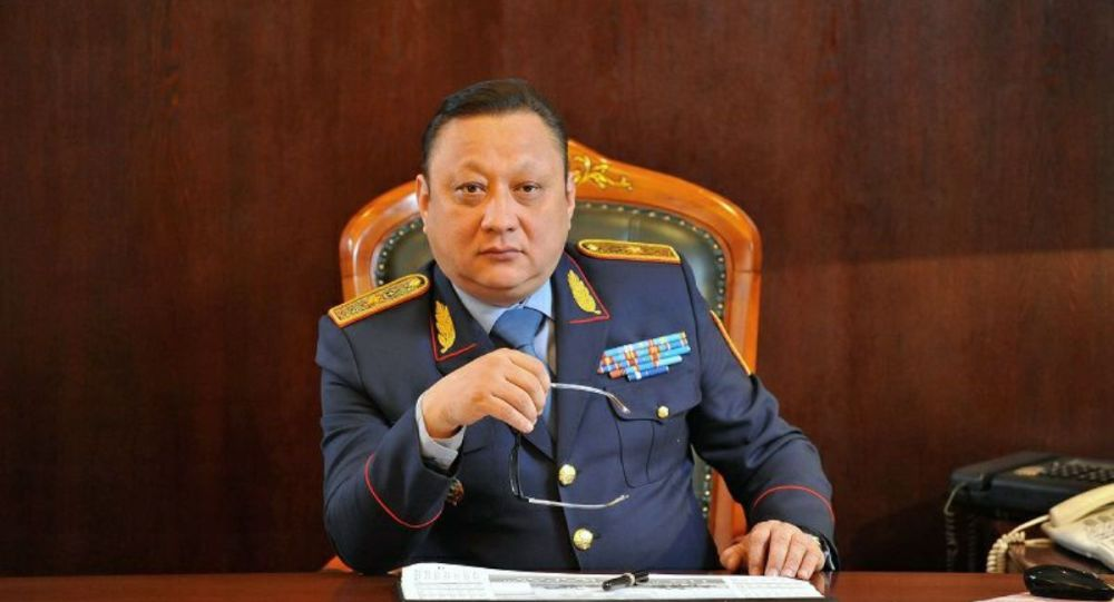 Начальник департамента по противодействию наркопреступности МВД Казахстана Маткенов Тлеген Советулы