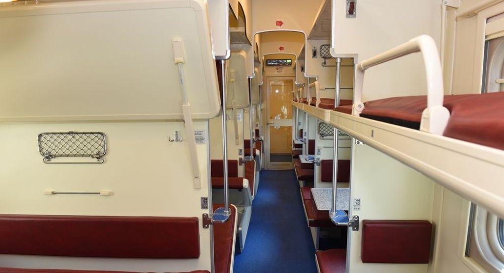 Тверь вагон жасау зауытының технологиясы бойынша өндірілген жолаушылар вагоны