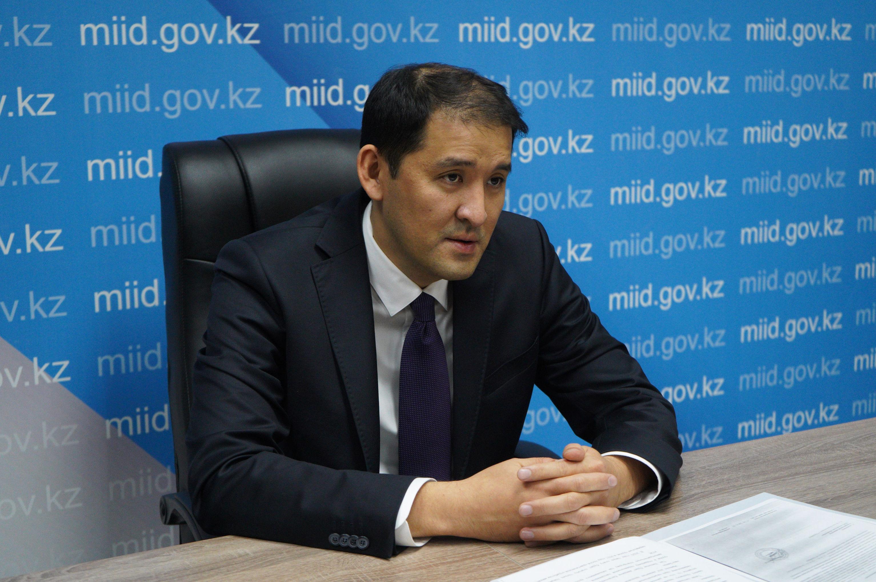 Заместитель председателя комитета транспорта МИИР Казахстана Жанибек Тайжанов