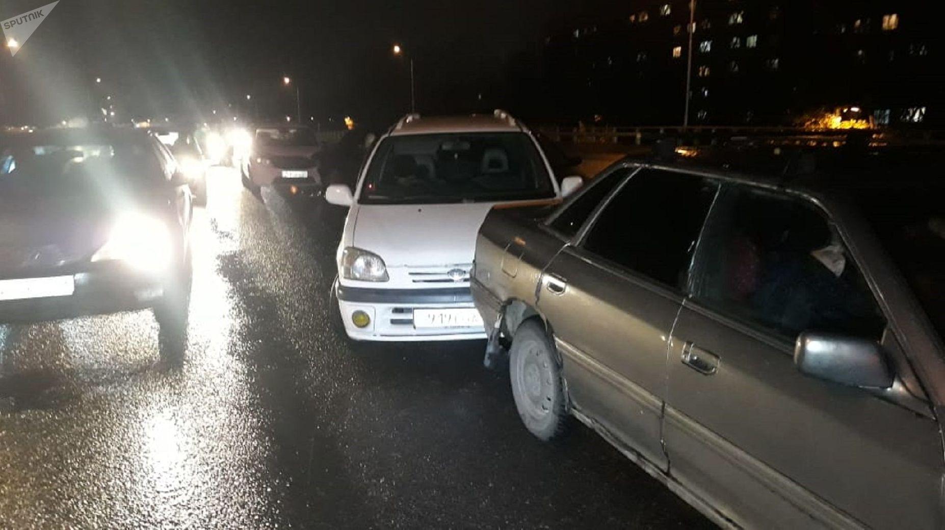 В аварии пострадала пассажирка
