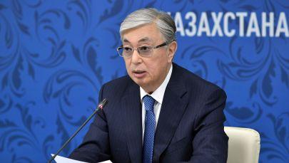 Президент Казахстана Касым-Жомарт Токаев во время заседания XVI Форума межрегионального сотрудничества России и Казахстана.