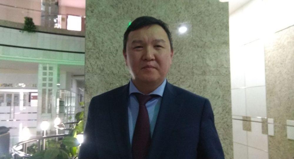 Заместитель председателя комитета транспорта министерства индустрии и инфраструктурного развития Казахстана Данияр Коспабаев