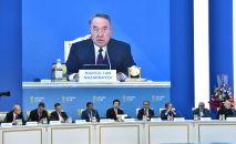 Нұрсұлтан Назарбаевтың төрағалығымен Astana club саяси форумының пленарлық мәжілісі өтіп жатыр