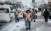В столицу пришли трескучие морозы в конце ноября