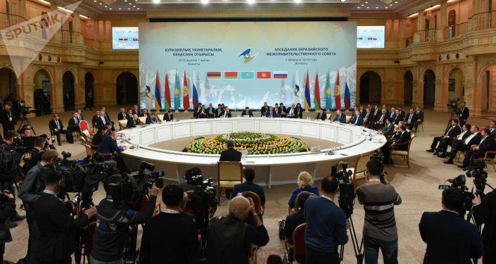 Заседание Межправсовета ЕАЭС