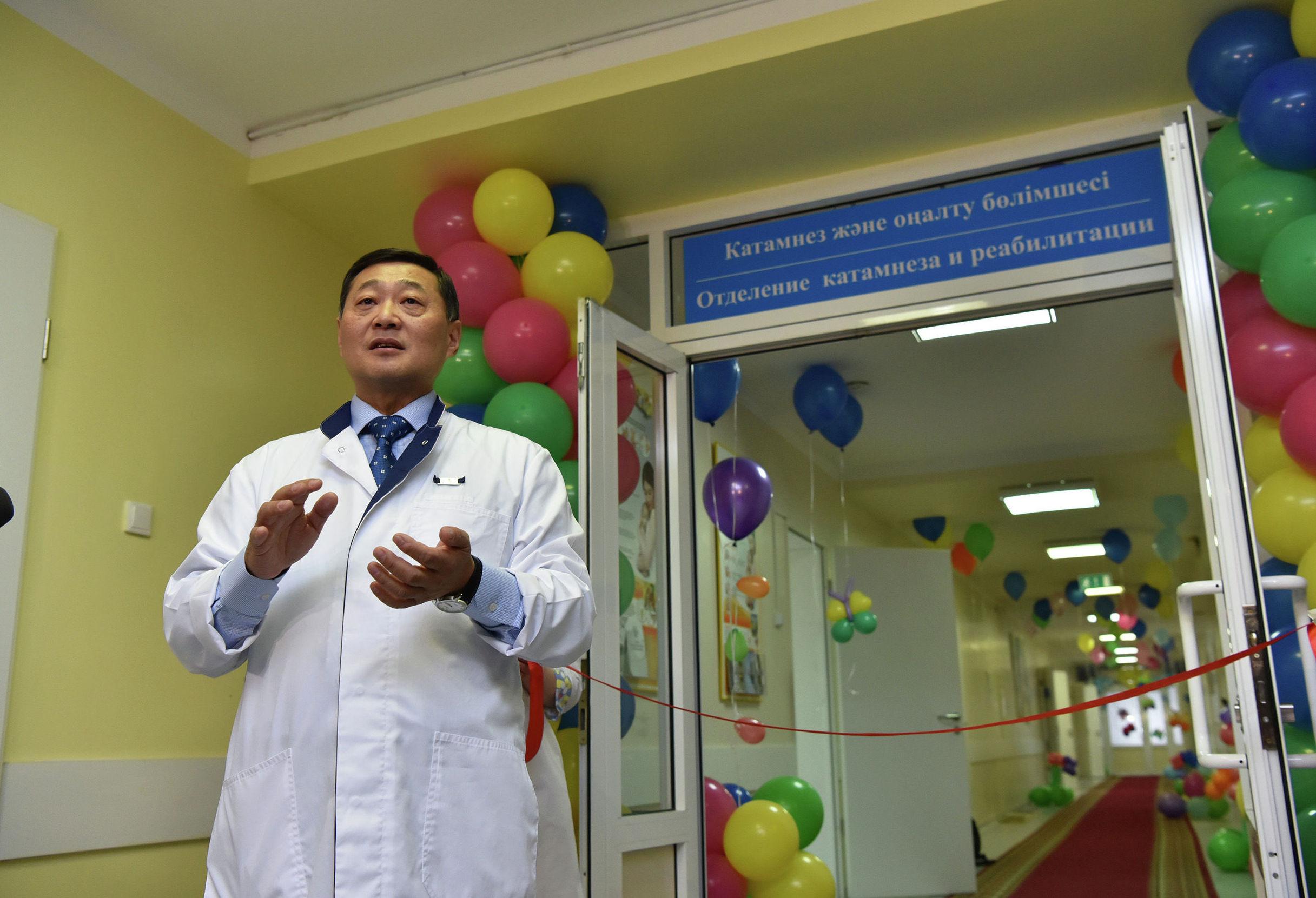 Главный врач второй городской многопрофильной больницы Астаны Иван Ли