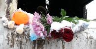 Астанада өрт кезінде қаза болған 5 қыздың жаназасы