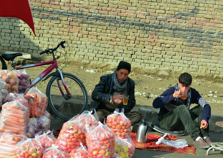 Начало рабочего дня в Кабуле