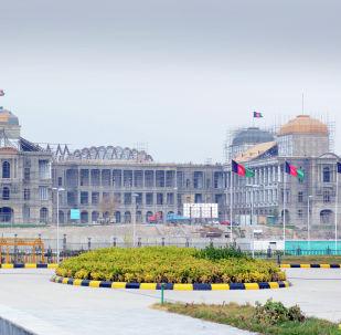 Строящееся правительственное здание в Кабуле