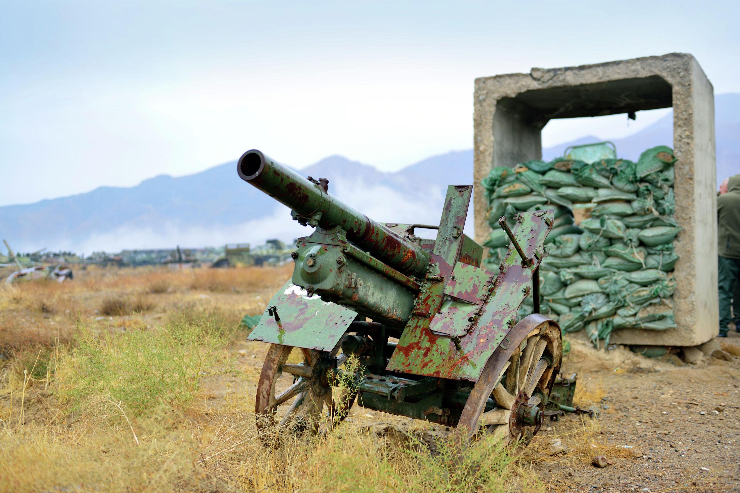 База хранения вооружений прошлого