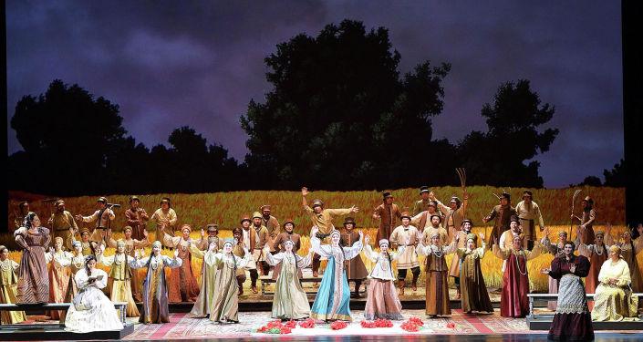 Посещение оперы Евгений Онегин