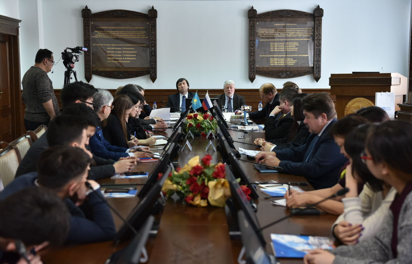 Посол России в Казахстане Алексей Бородавкин в ЕНУ