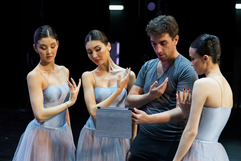 Хореограф Рикардо Амаранте в Астана Балет