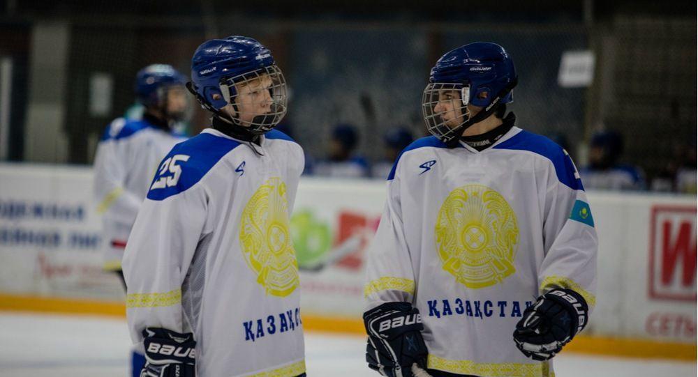 Первые зимние международные спортивные игры Дати Азии. Хоккей. Сборная Казахстана