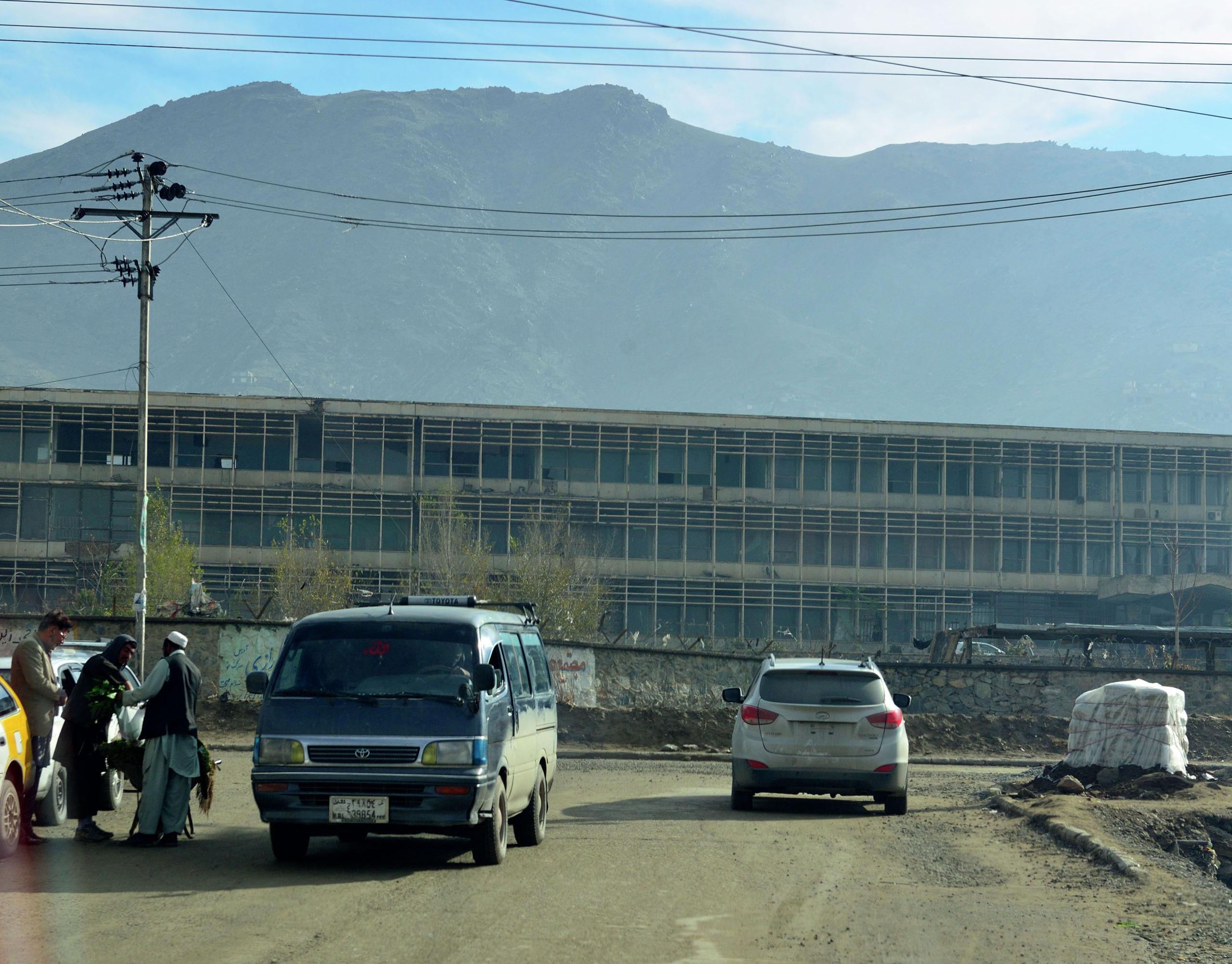 Главный корпус Кабульского политехнического института