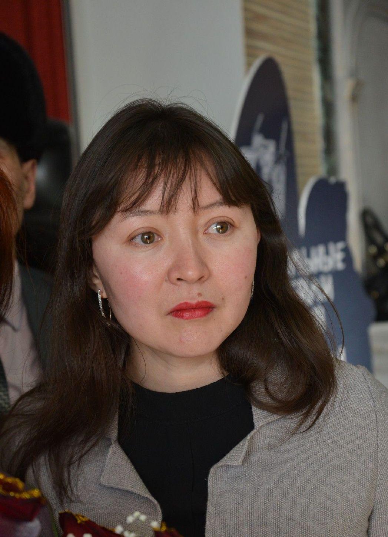 Самал Еслямова на премьере фильма Айка в Петропавловске