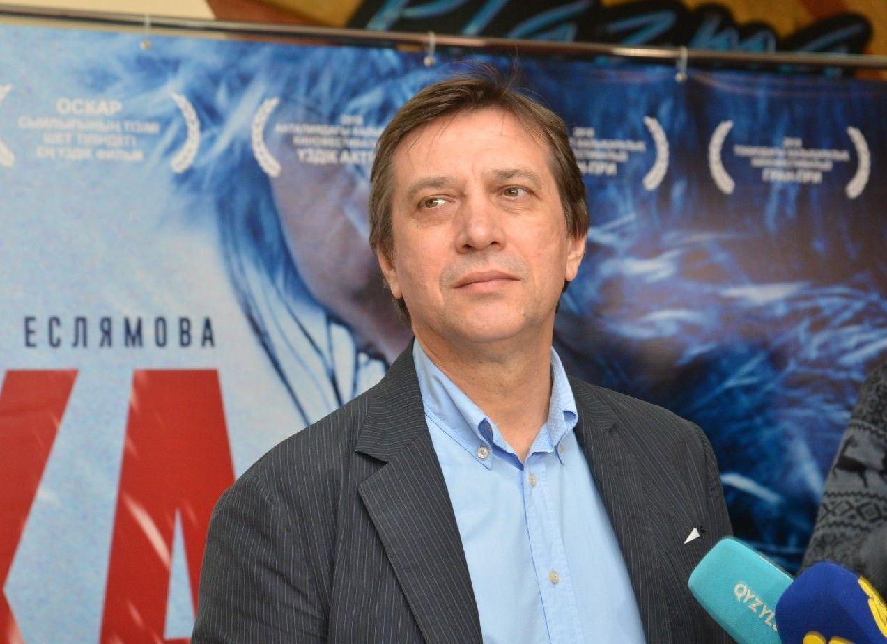 Сергей Дворцевой на премьере фильма Айка в Петропавловске