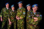 Участники группы Голубые береты