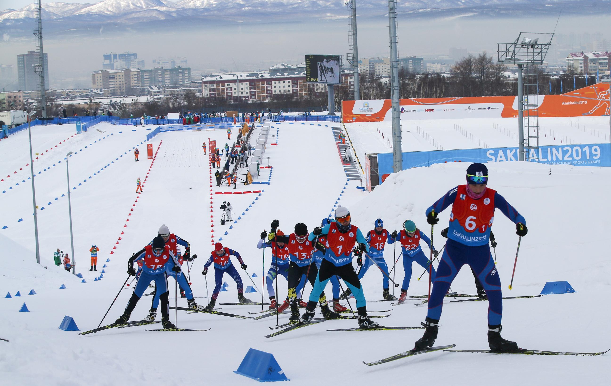Лыжные гонки. Смешанная эстафета