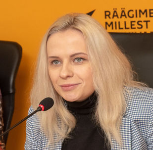Начальник управления мультимедийных центров SPUTNIK в странах Ближнего Зарубежья и Балтии Маргарита Некрасова