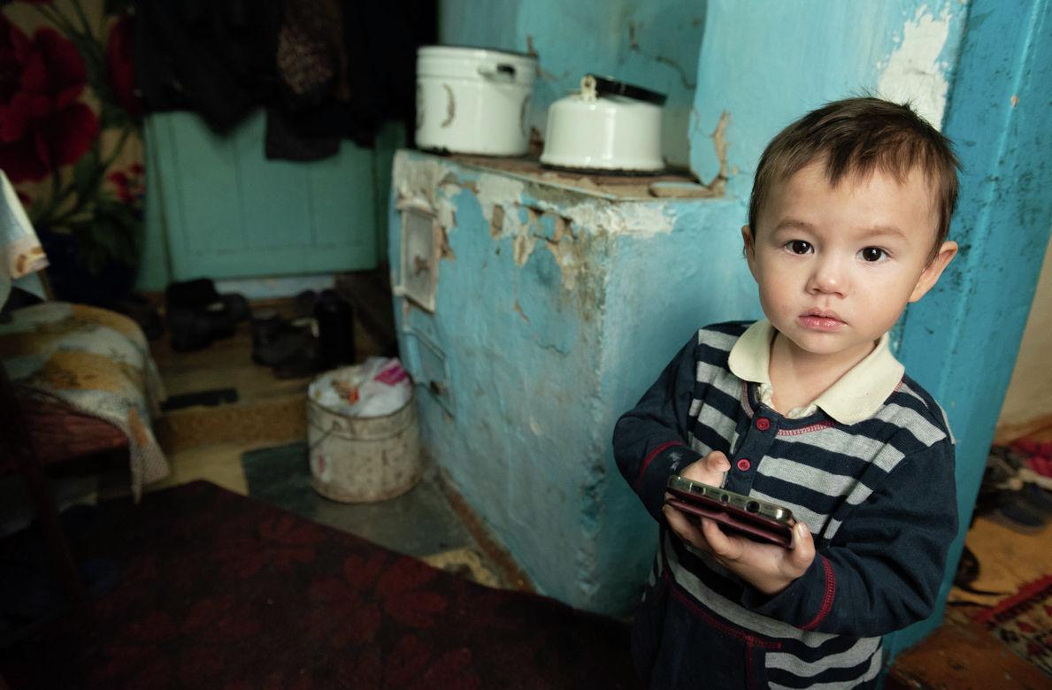 Младший сын Альмиры Кузеубаевой