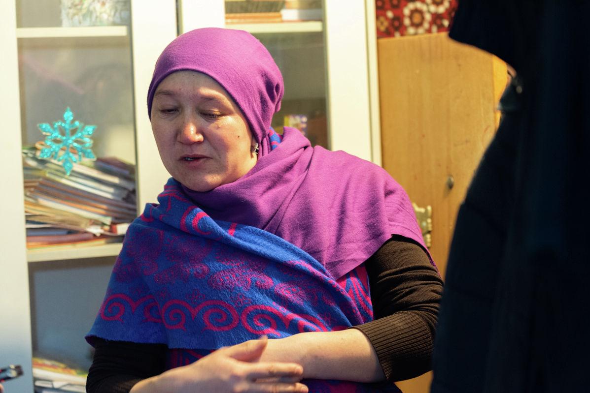 Альмира Кузеубаева инвалид 2 группы