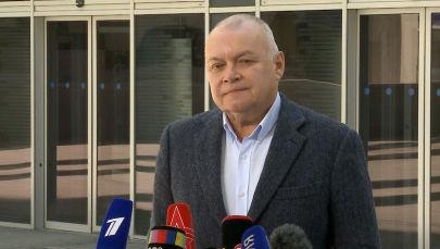 Дмитрий Киселев о Вышинском: То, что происходит с ним сейчас — настоящая пытка