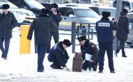 Газовый баллон, который хотел взорвать мужчина в центре Астаны